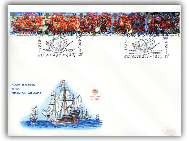 19th July 1988 400th Anniversary of the Spanish Armada