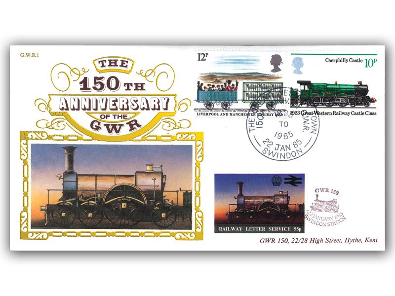 1985 150th Anniversary of the Great Western Railway  - The Iron Duke