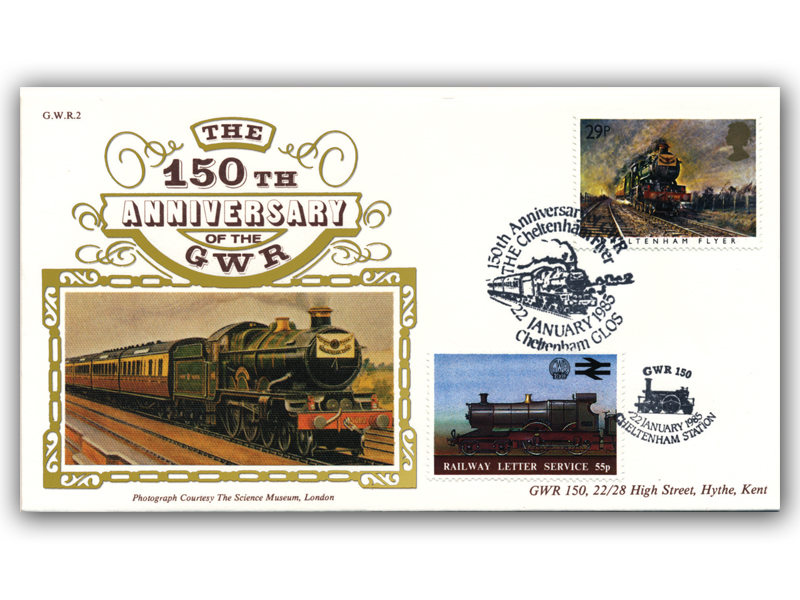 1985 150th Anniversary of the Great Western Railway - The Cheltenham Flyer