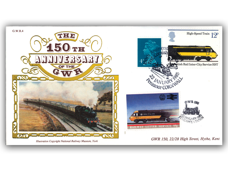 1985 150th Anniversary of the Great Western Railway - The Cornish Riviera