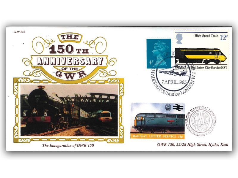 1985 150th Anniversary of the Great Western Railway - Official Launch