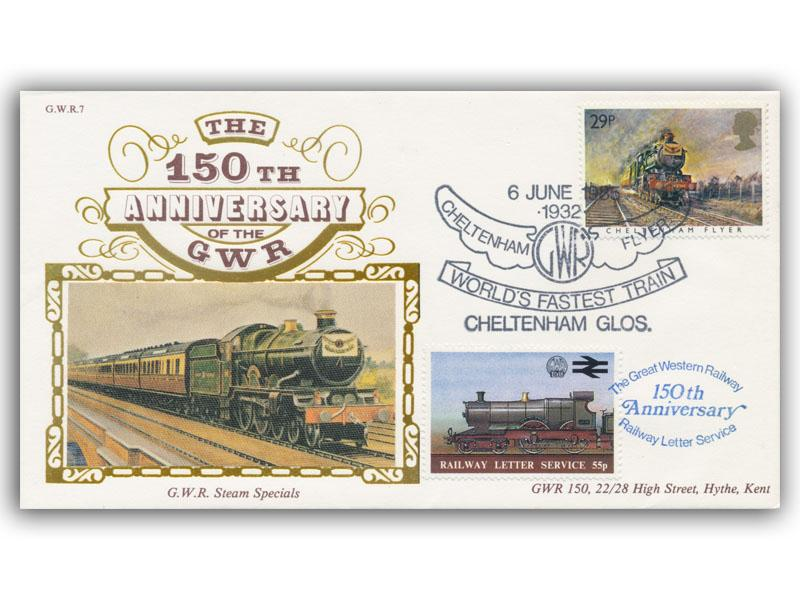 1985 150th Anniversary of the Great Western Railway - Steam Special