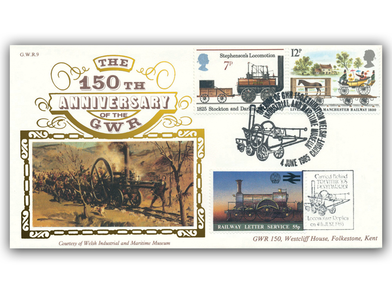 1985 150th Anniversary of the Great Western Railway - Welsh Industrial Museum