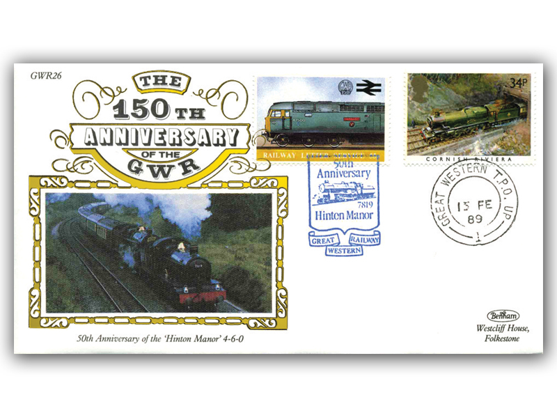 1989 150th Anniversary of the Great Western Railway - Hinton Manor
