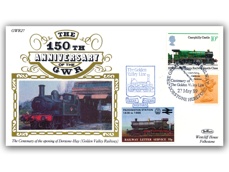 1989 150th Anniversary of the Great Western Railway - Golden Valley Line