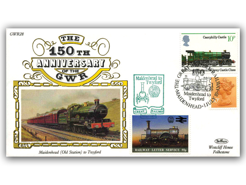 1989 150th Anniversary of the Great Western Railway - Maidenhead to Twyford