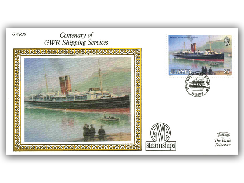 1989 150th Anniversary of the Great Western Railway - Jersey Shipping Services
