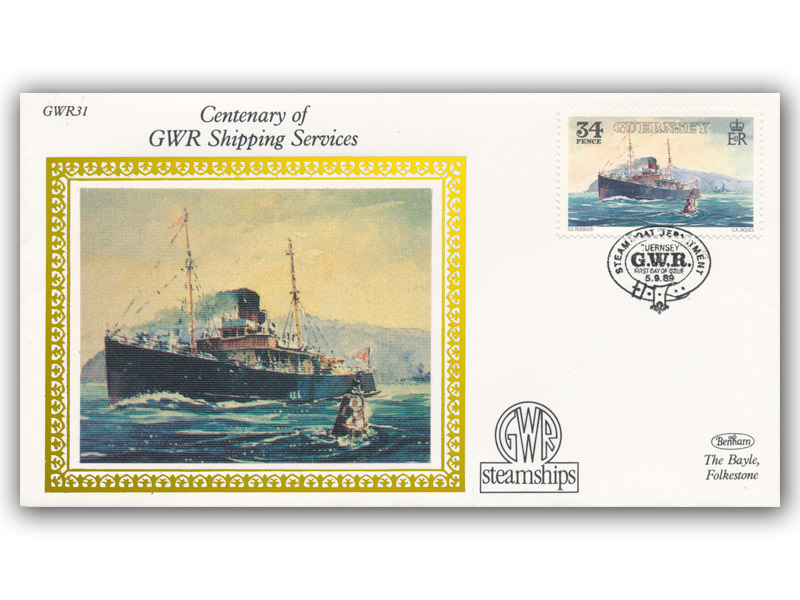 1989 150th Anniversary of the Great Western Railway - Guernsey Shipping Services