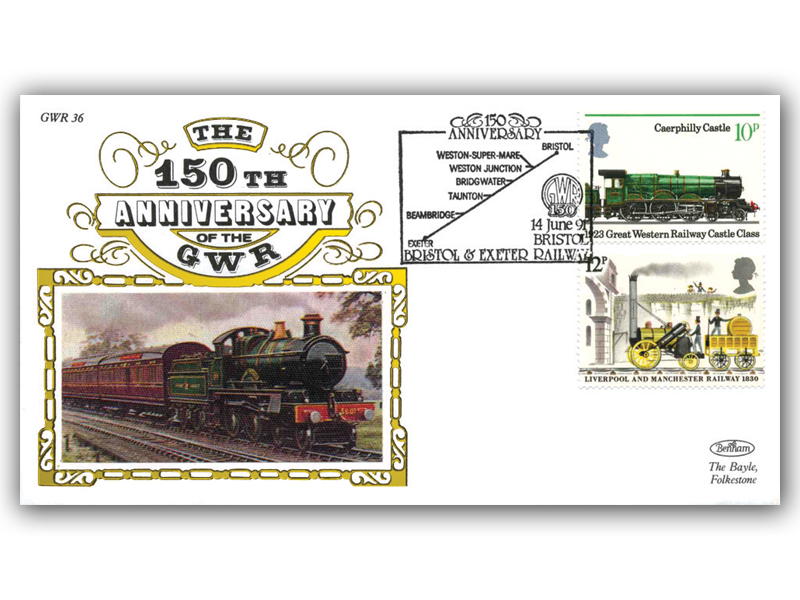 1991 150th Anniversary of the Great Western Railway - Bristol and Exeter Railway