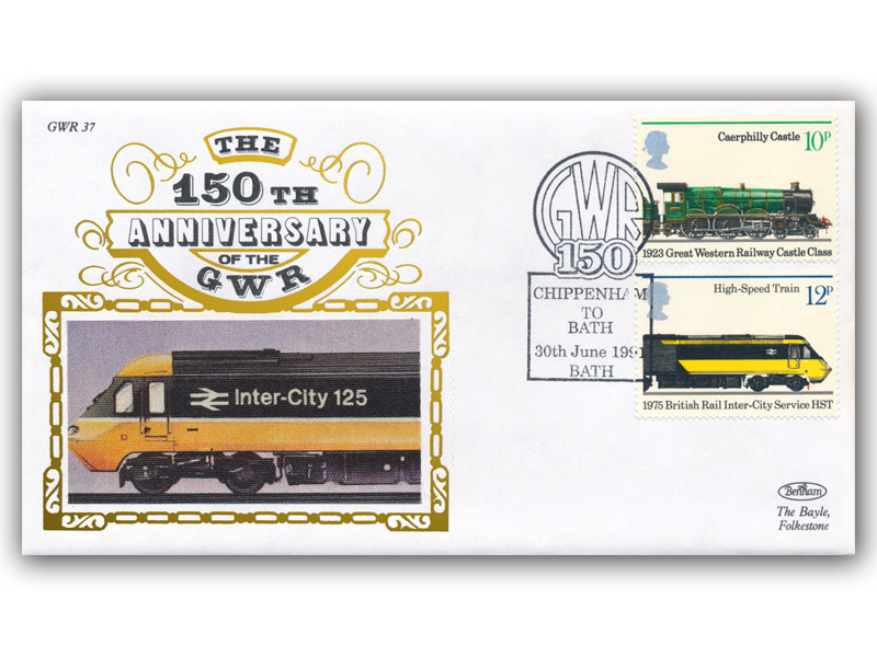 1991 150th Anniversary of the Great Western Railway - Chippenham to Bath