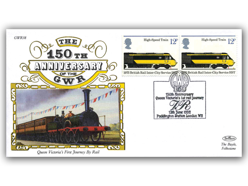 1992 150th Anniversary of the Great Western Railway - Queen Victorias 1st rail journey anniversary