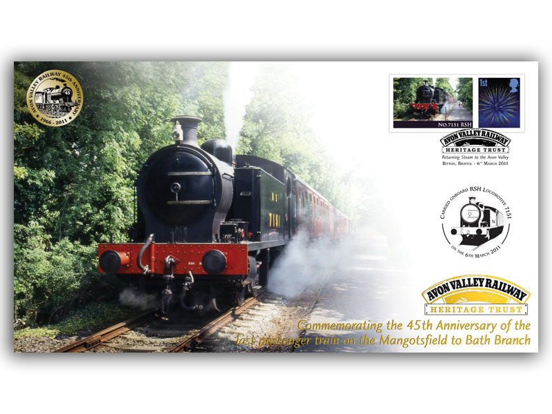 45th Anniversary of the last passenger train on the Mangotsfield to Bath Branch