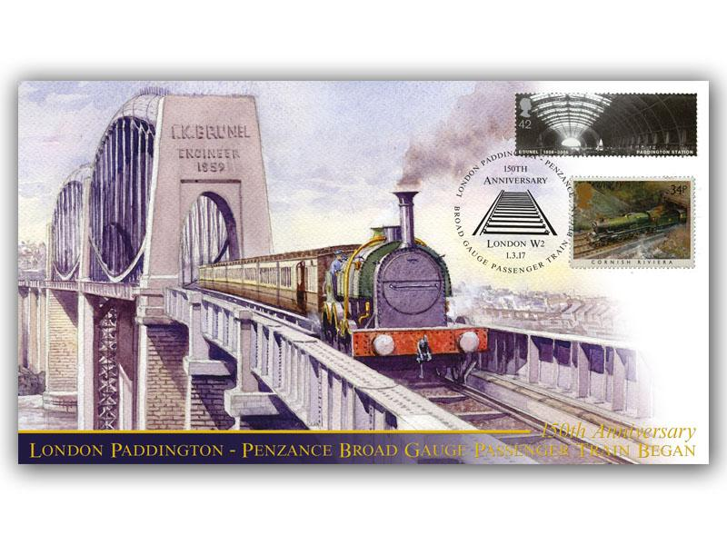 150th Ann of the Paddington to Penzance Broad Gauge Passenger Services