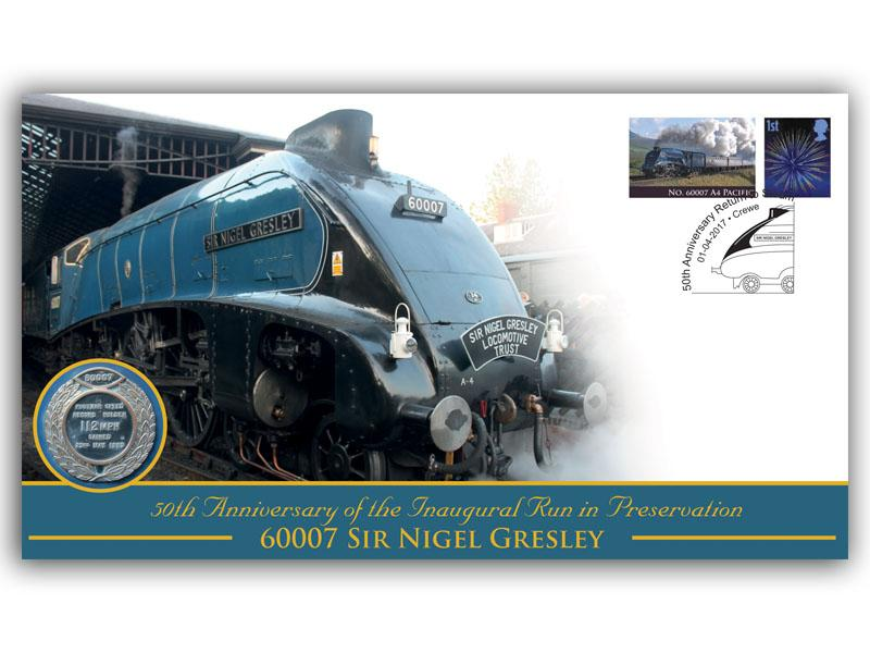 50th Ann of the Inaugural Run in Preservation of 60007 The Sir Nigel Gresley