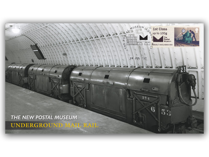 The New Postal Museum Official Opening Single Stamp Cover