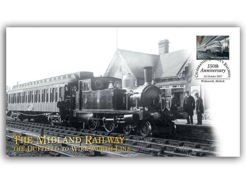 150th Anniversary of the Midland Railway - Duffield to Wirksworth Line