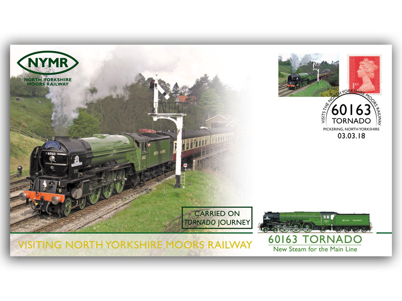 Tornado Visits the North Yorkshire Moors Railway