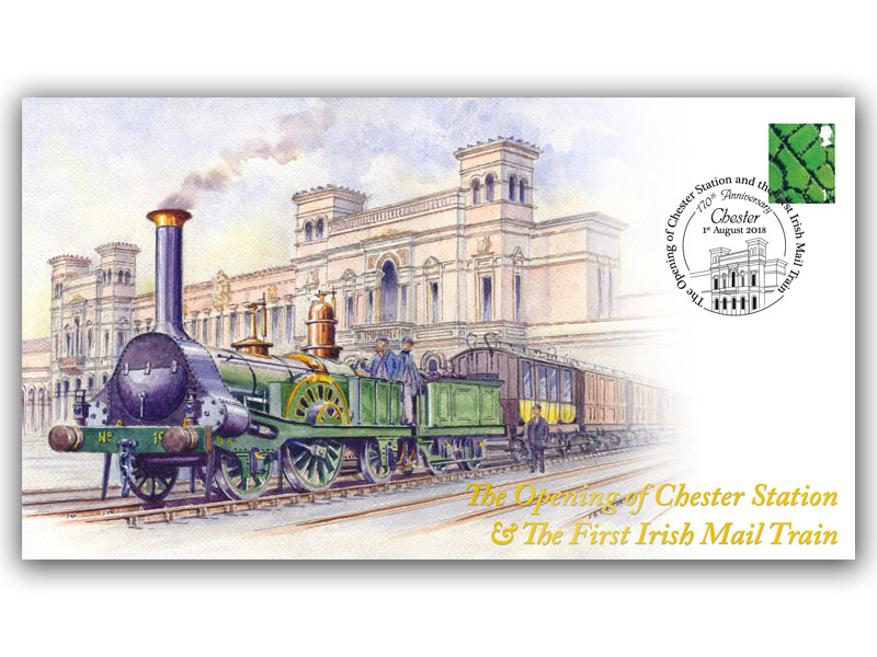 170th Anniversary of the Opening of Chester Station & 1st Irish Mail Train