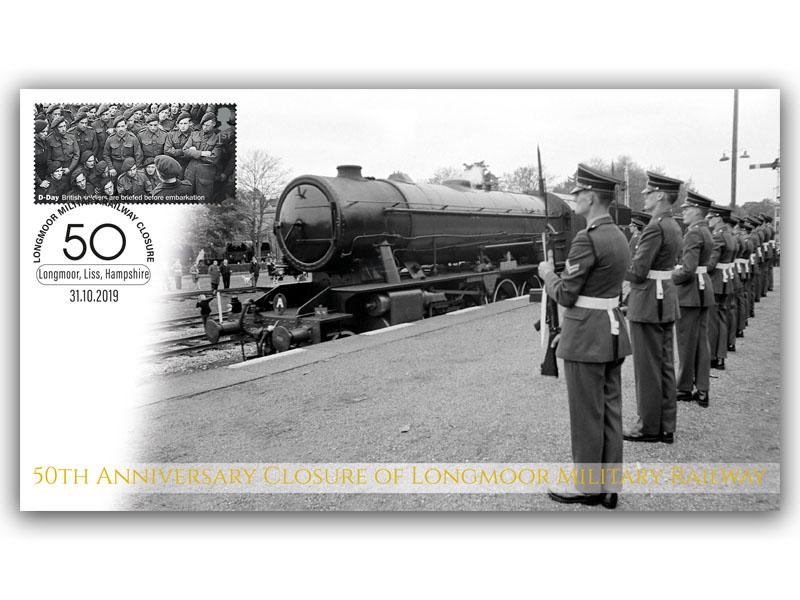 50th Anniversary of the Closure of Longmoor Military Railway First Day Covers