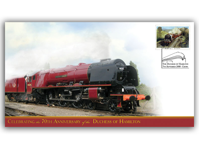 70th Anniversary of the Duchess of Hamilton