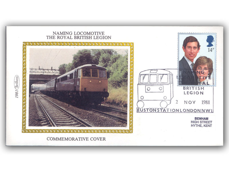 2nd November 1981 The Naming of the Locomotive The Royal British Legion