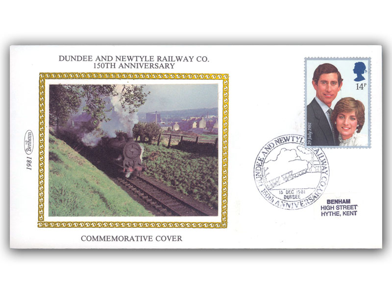 15th December 1981 150th Anniversary of The Dundee and Newtyle Railway