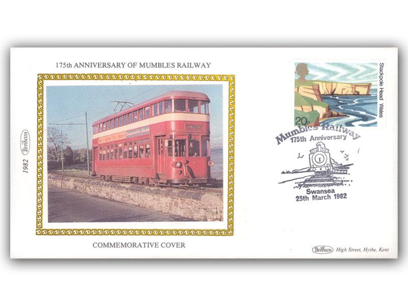 25th March 1982 175th Anniversary of The Mumbles Railway