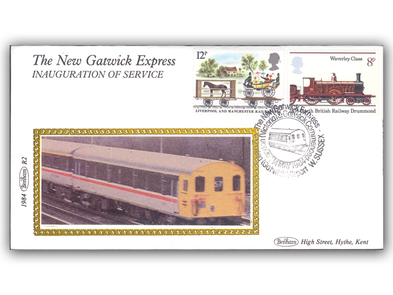 14th May 1984 - The New Gatwick Express Service