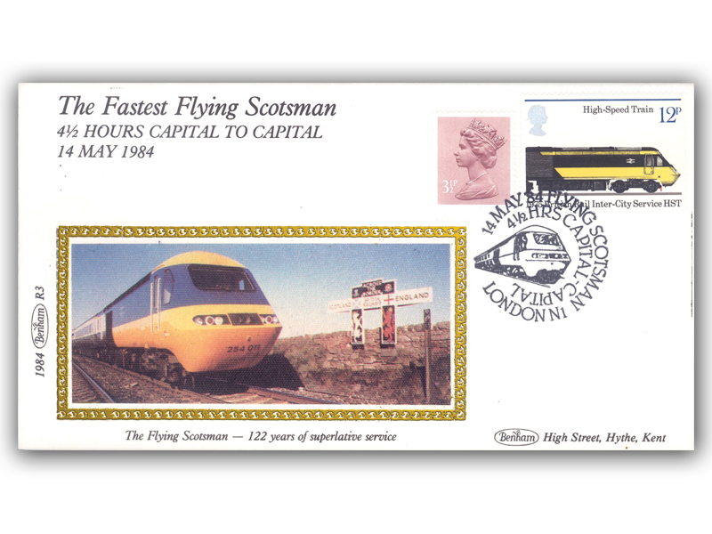 14th May 1984 - The Fastest Flying Scotsman Run
