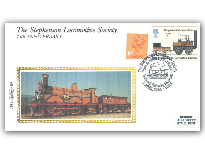 7th April 1984 - 75th Ann of the Stephenson Locomotive Society