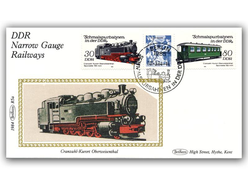 20th March 1984 - DDR Narrow Gauge Railway Pair of Covers