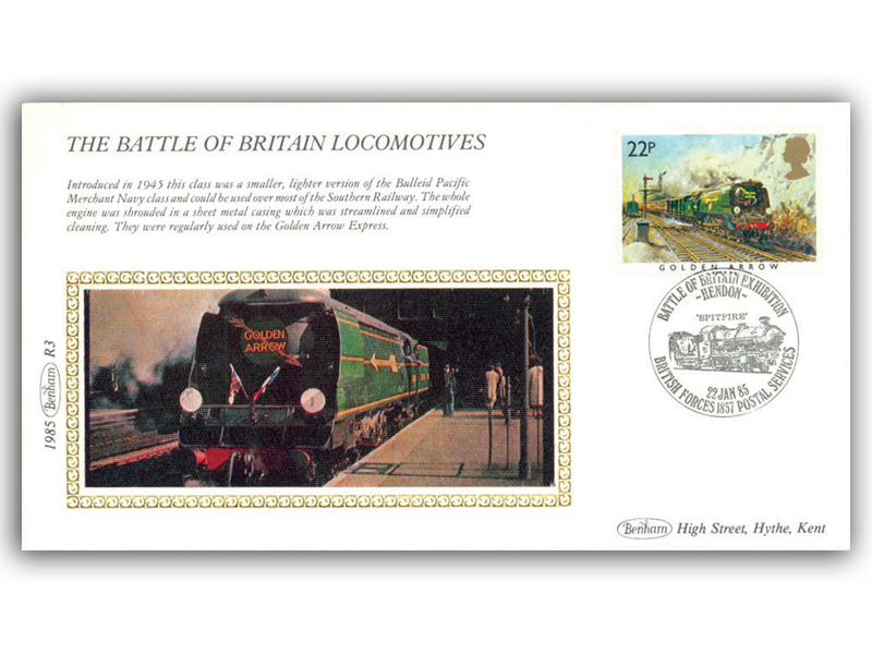 22nd January 1985 - The Battle Of Britain Locomotives