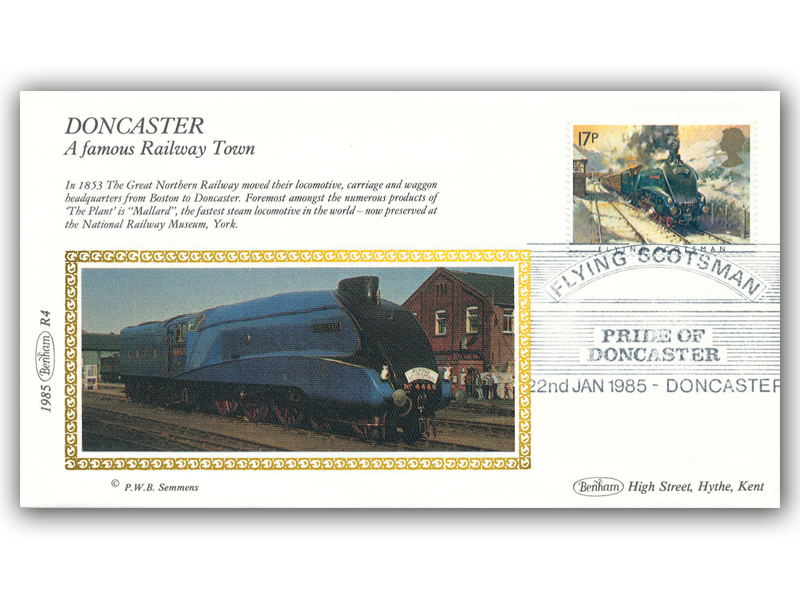 22nd January 1985 - Flying Scotsman - The Pride of Doncaster