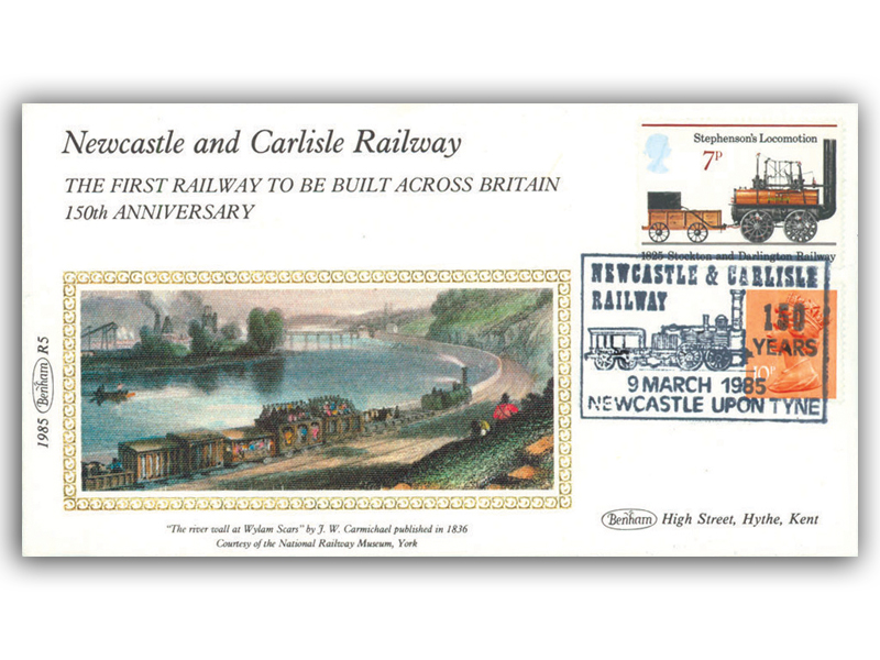 9th March 1985 - 150th Anniversary of the Newcastle and Carlisle Railway
