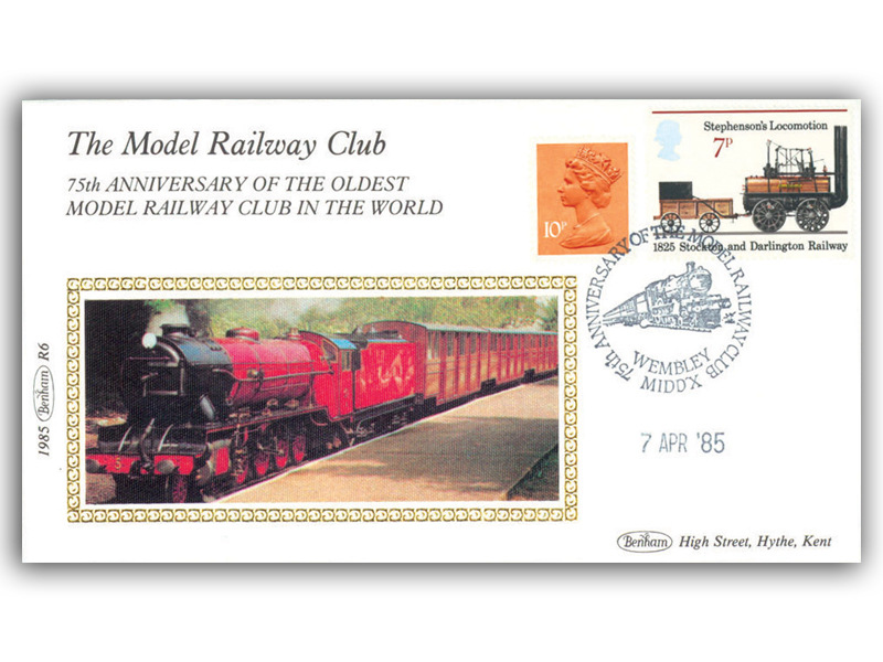 7th April 1985 - 75th Anniversary of the Model Railway Club