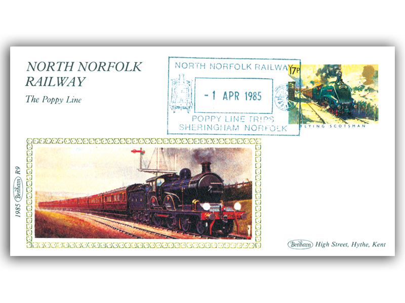 1st April 1985 - North Norfolk Railway; The Poppy Line
