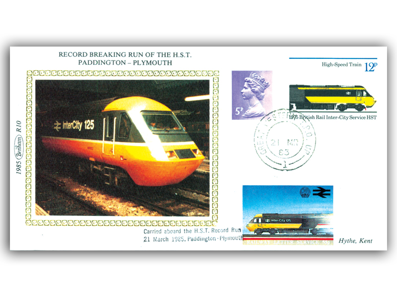 21st March 1985 - Record Breaking Run of the H.S.T. Paddington to Plymouth