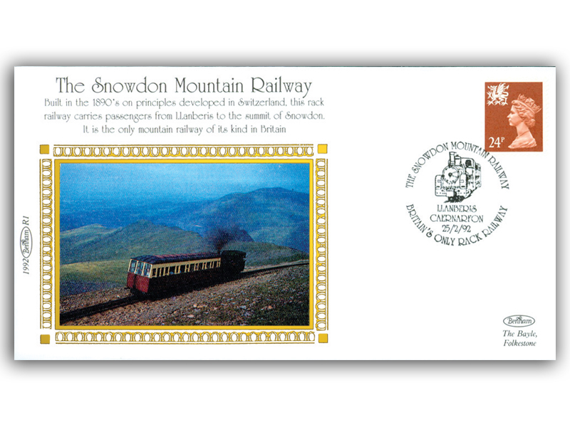25th February 1992 - The Snowdon Mountain Railway