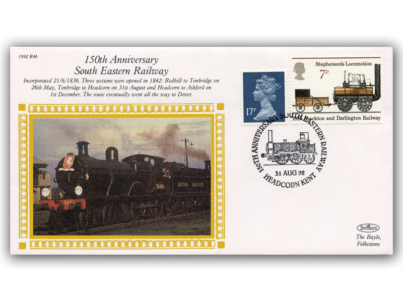 31st August 1992 - 150th Anniversary of South Eastern Railway