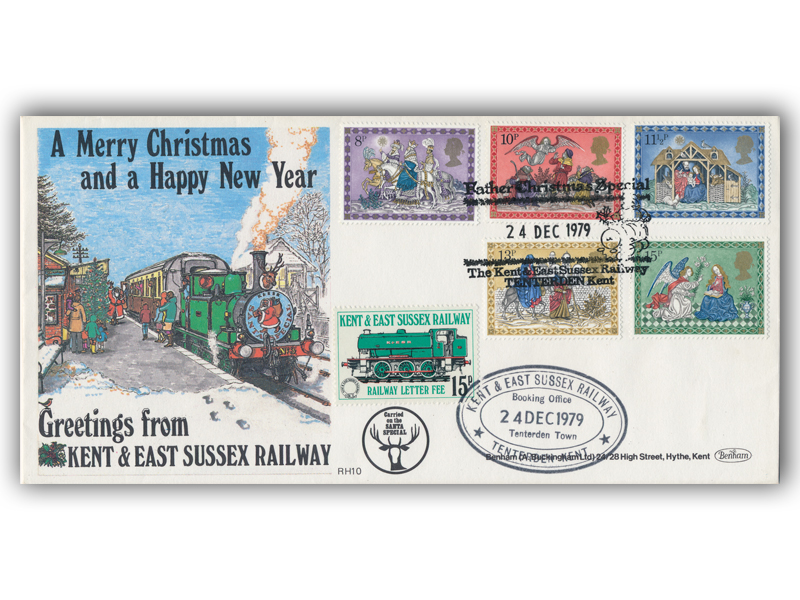 1979 RHDR Christmas full set carried cover