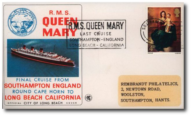 Buckingham Covers | RMS Queen Mary