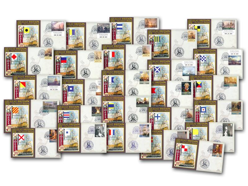 The Maritime Flags - Set of 26 Covers