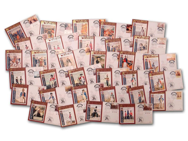Nelson's Men - Set of 32 Covers