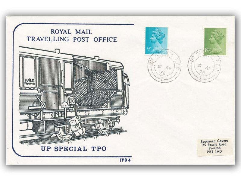 5th April 1978 Travelling Post Office Up Special Side 1
