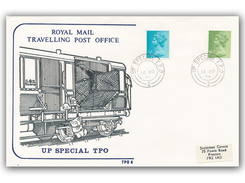 14th March 1978 Travelling Post Office Up Special Side 2