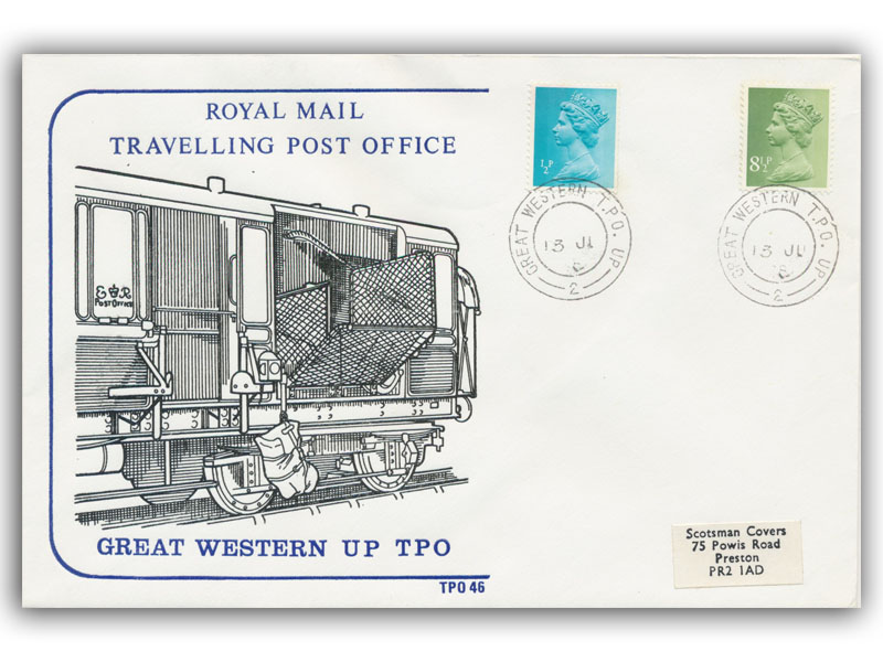 13th June 1978 Travelling Post Office Great Western Up Side 2