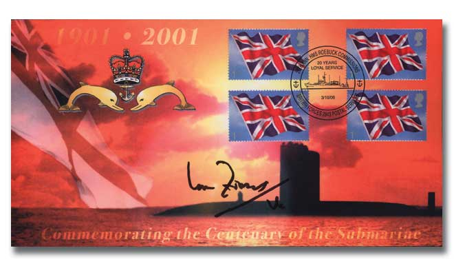2006 Commemorating the Centenary of the Submarine signed Fraser VC