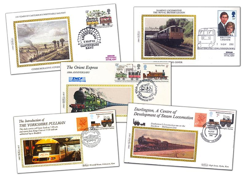 20 Benham Railway Covers