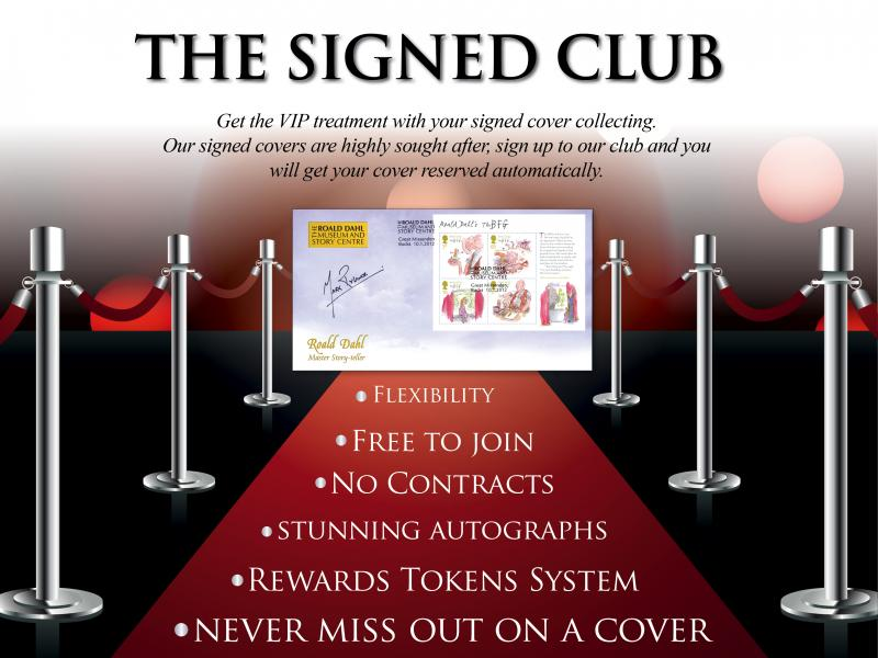 M - Join the Buckingham Signed Club First Day Covers