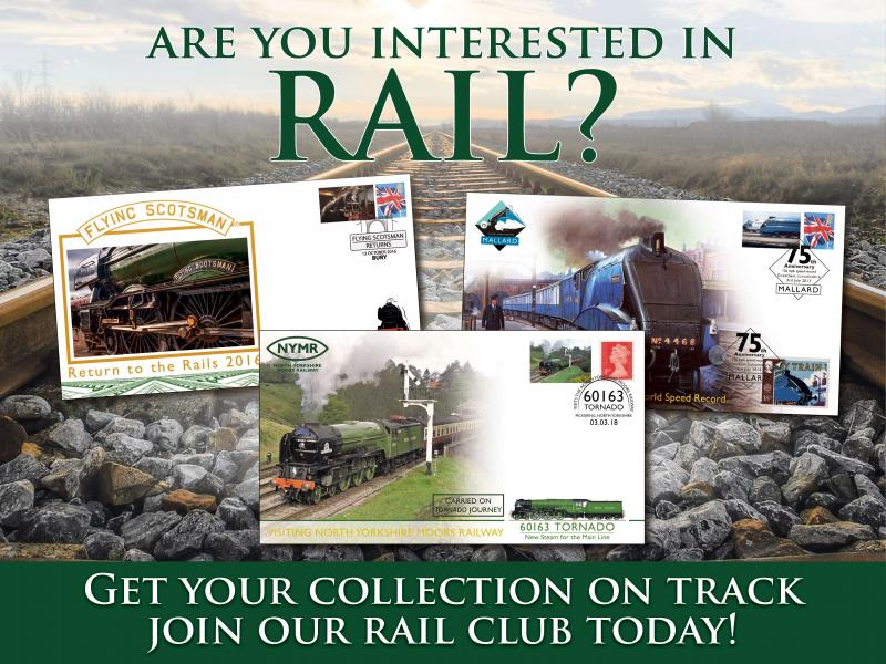 O - Join the Buckingham Rail Club First Day Covers